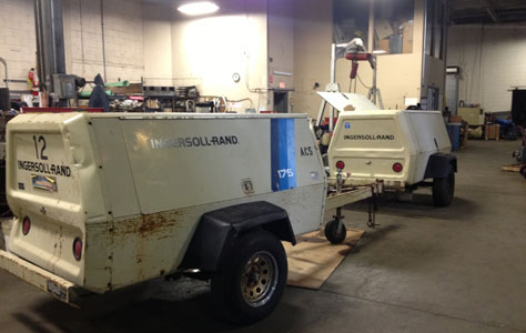 Portbale Air Compressor Repair NY & Long Island, Diesel Air Compressor Repair NY